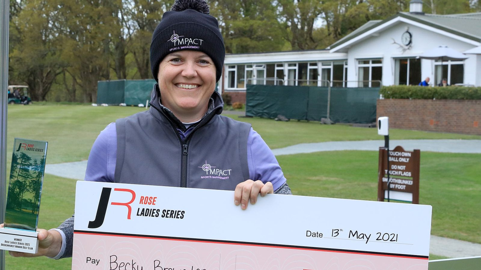 Rose Ladies Series: Becky Brewerton snatches play-off victory at Brokenhurst Manor event