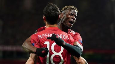 Manchester United are on the brink of reaching the Europa League final