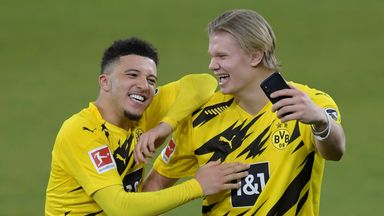 Jadon Sancho and Erling Haaland will both be in demand this summer