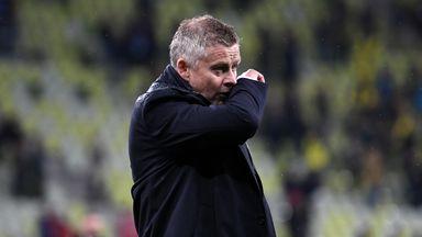 Image from Ole Gunnar Solskjaer in the spotlight as Manchester United miss golden opportunity against Villarreal
