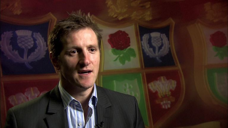 Will Greenwood was made to wait before finding out about his Lions selection