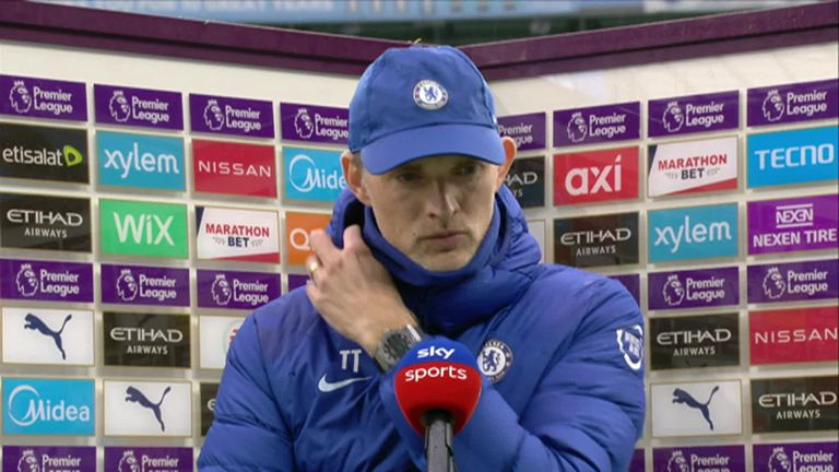 Chelsea boss Thomas Tuchel says his side showed their fighting spirit after coming from behind to beat Manchester City
