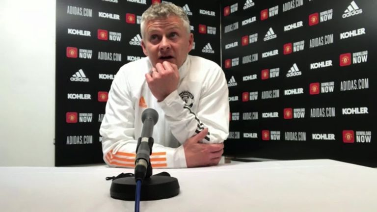 Ole Gunnar Solskjaer is hopeful Harry Maguire will be fit to play in the Europa League final as he joked he was not concerned whether the defender would prove his fitness in time for the Euros