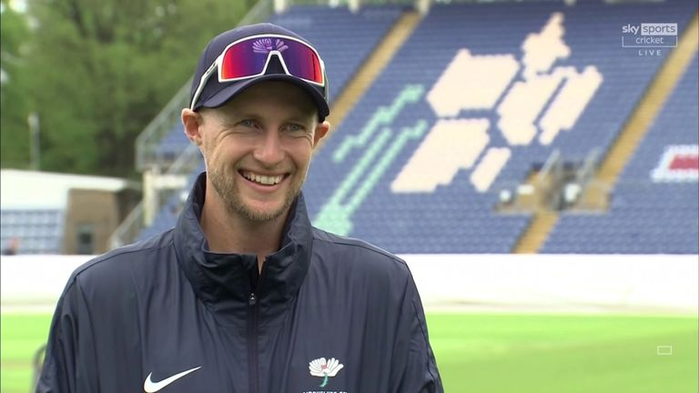 England captain Joe Root discusses county cricket, finding his batting rhythm, and an exciting year ahead for the Test side - one he hopes will see them peak in the Ashes