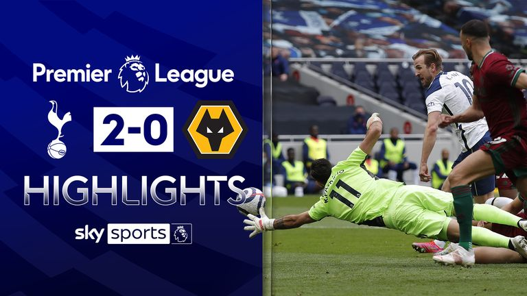 FREE TO WATCH: Highlights from Tottenham's win over Wolves
