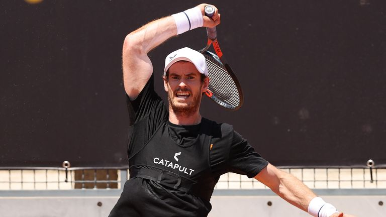 Murray has not played a competitive match since March