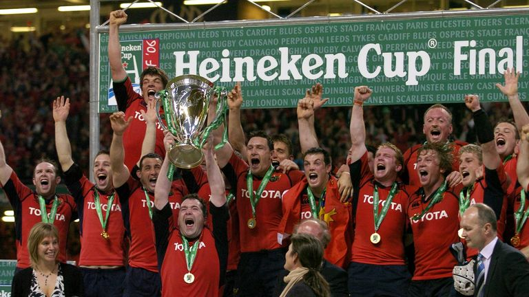 Munster's 10-year journey to clinch a European Cup title was emotionally achieved in 2006