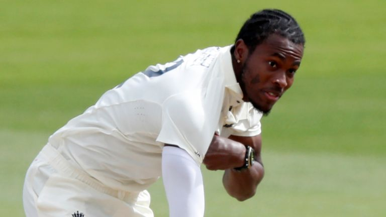England bowler Jofra Archer is hoping to fit to face the West Indies in March