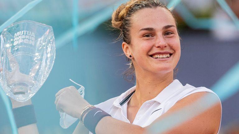 Aryna Sabalenka upset the odds to win the Madrid Open