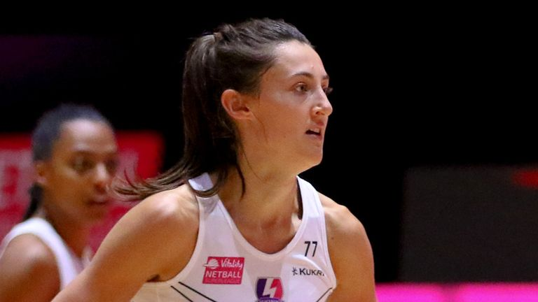 Beth Cobden helped Loughborough Lighting to a victory over London Pulse that secures them a place in the Superleague semi-finals (Image: Ben Lumley)