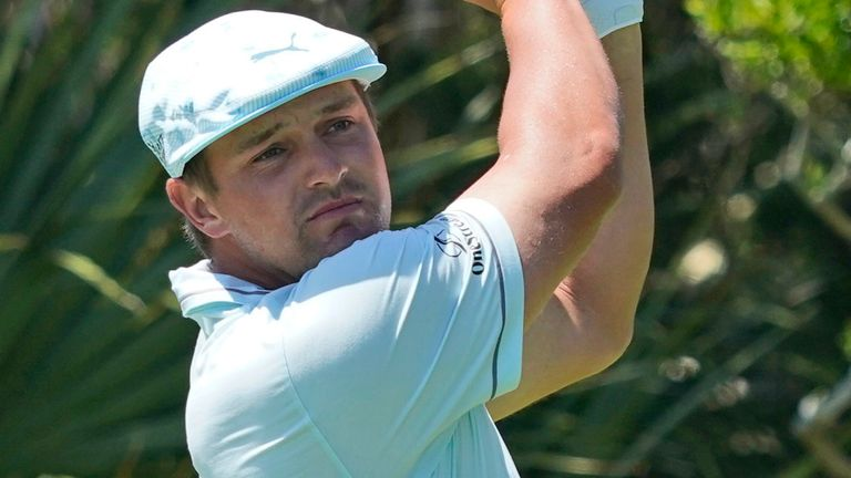 The highs and lows of the third round of the penultimate event of the season on the PGA Tour, with Bryson DeChambeau and Patrick Cantlay tied for the lead at Caves Valley