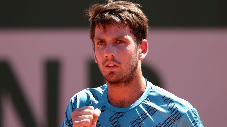 Cam Norrie is Britain's sole survivor at this year's French Open after winning his first-round match
