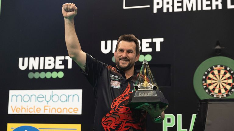 Clayton added the Premier League Darts crown to his growing haul in Milton Keynes