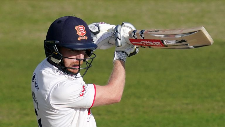 Adam Wheater's innings of 81 put Essex on track for victory against Durham (PA Images)