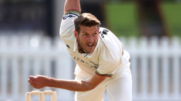 Left-armer Payne has taken 19 wickets this season at an average of 17.42