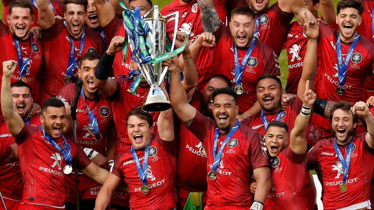 Toulouse consiguió un histórico quinto título de la Copa de Campeones de Heineken con la victoria sobre La Rochelle