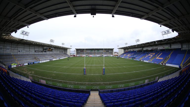 The Halliwell Jones Stadium was due to host Warrington's home clash with Catalans on Thursday