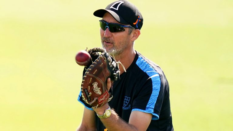 Jason Gillespie has helped Robinson develop as a bowler and a person