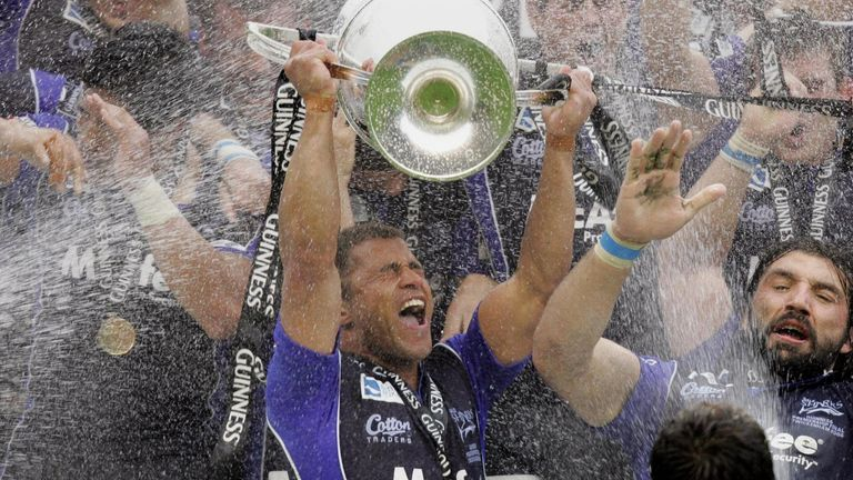 Jason Robinson is now on the board at Sale after captaining them to glory as a player