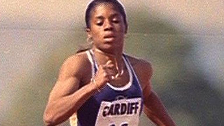 Stoute competed in the 100m, 200m and 400m at different stages of her career