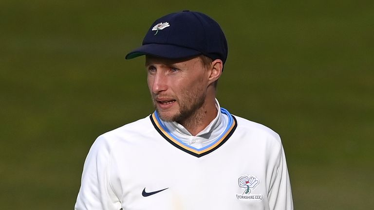 England Test captain Joe Root will be in action for Yorkshire against Glamorgan