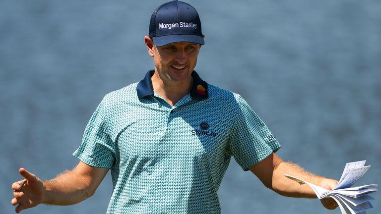 Justin Rose는 PGA 챔피언십의 선수 중 하나입니다.