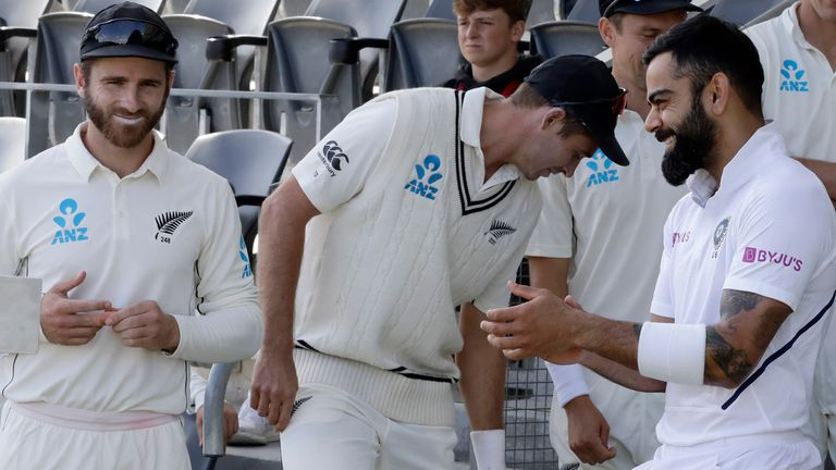 New Zealand and India will meet in the World Test Championship final at The Ageas Bowl from June 2