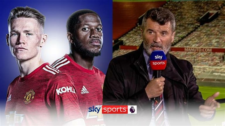 Roy Keane has criticised the current midfield duo at Manchester United