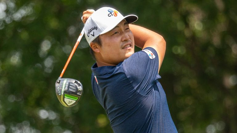 KH Lee played flawless golf in the third round