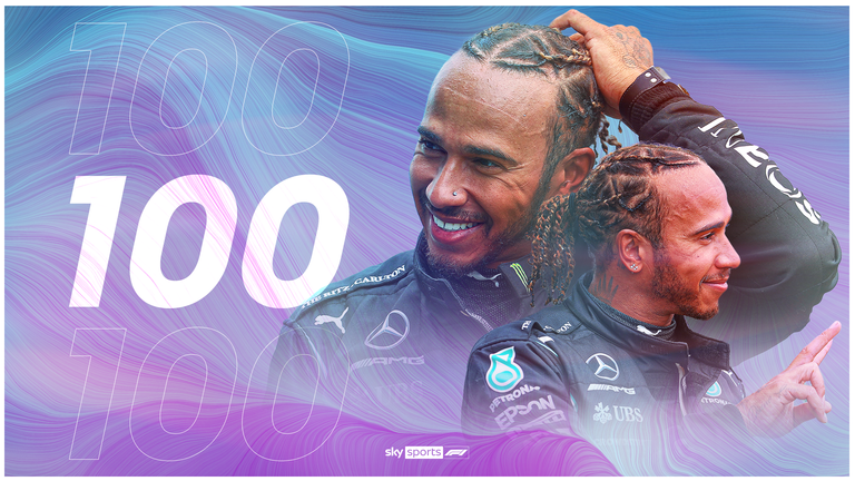 Spanish GP Qualifying: Lewis Hamilton edges Max Verstappen to claim 100th