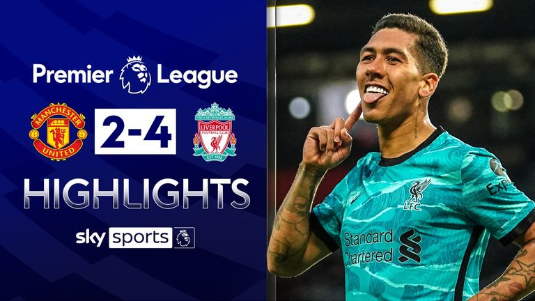 FREE TO WATCH: Highlights from Liverpool's win over Manchester United in the Premier League