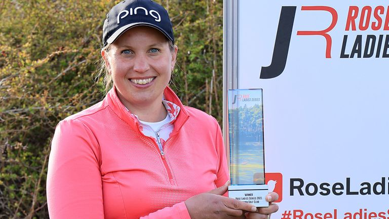 Liz Young claimed a two-shot victory at Woburn