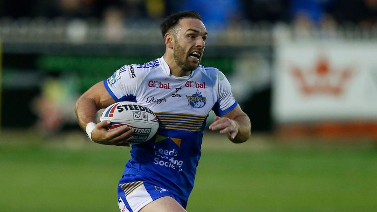Former Castleford man Luke Gale was also among the try-scorers on the night