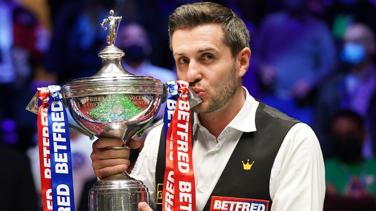 Mark Selby joined John Higgins as a four-time world snooker champion following his latest victory at the Crucible in Sheffield
