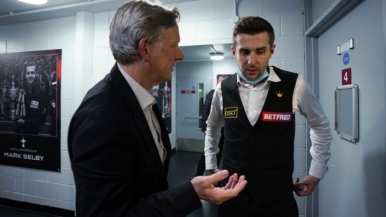 Selby has thanked his coach Chris Henry for helping him find his game again having suffered a dramatic collapse in form following his third world title win in 2017