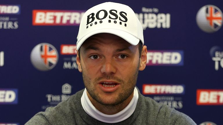 Martin Kaymer will play alongside Robert MacIntyre and Rasmus Hojgaard over the first two days
