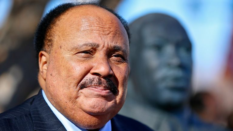 Martin Luther King III tells Sky Sports News' Mike Wedderburn the 'sacrifice' of sports stars willing to boycott will lead to change