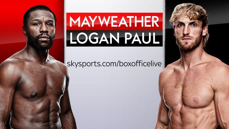 Mayweather peleará contra Paul en vivo en Sky Sports Box Office el 6 de junio