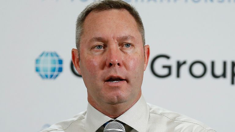 Mollie Marcoux Samaan will replace Mike Whan (pictured) as LPGA commissioner