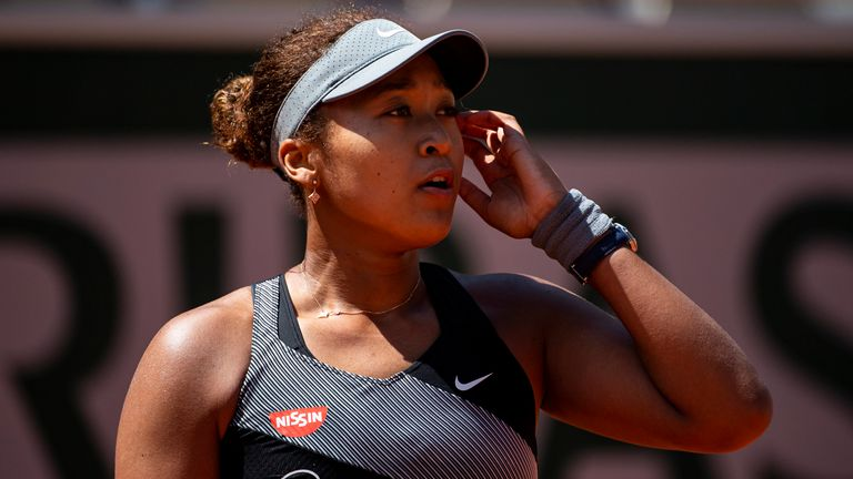 Naomi Osaka released a statement via her social media accounts on Monday evening confirming she was pulling out of the French Open