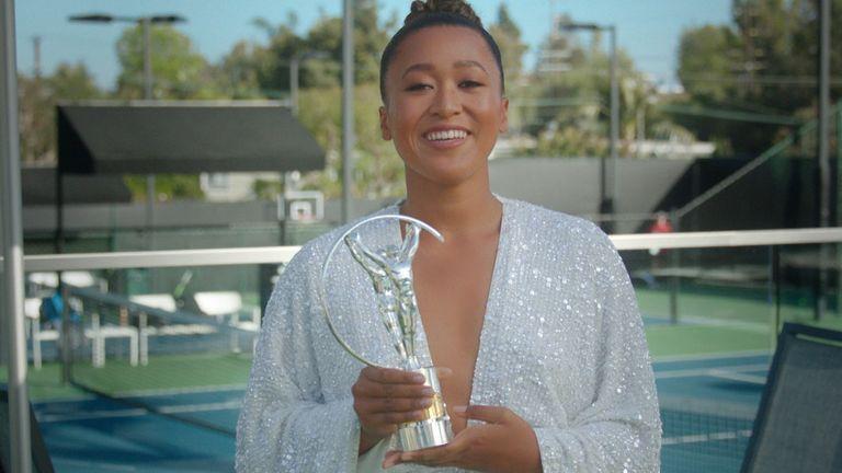 Naomi Osaka won the Laureus World Sportswoman of the Year Award