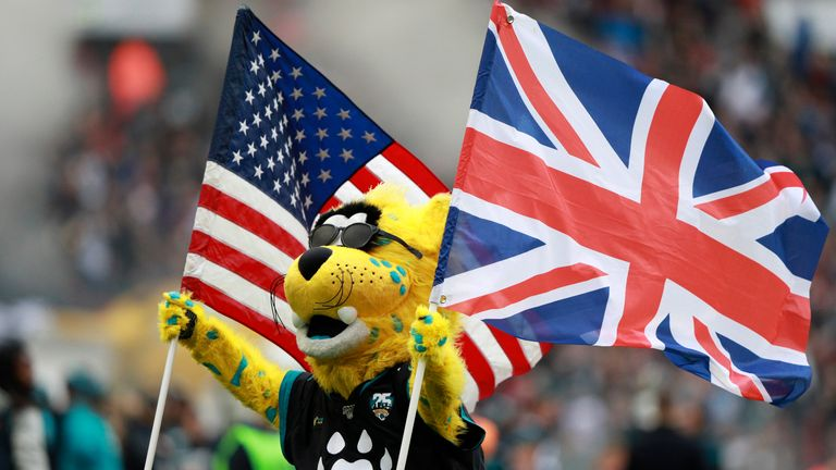 The NFL returns to London after a year away