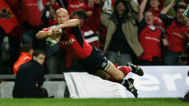 Peter Stringer's try in the 2006 final has gone down in folklore