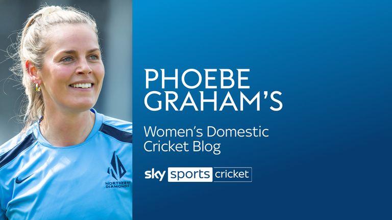Phoebe Graham says learning from England's Katherine Brunt, Lauren