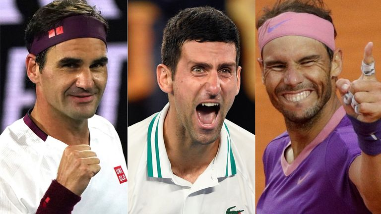 Roger Federer, Novak Djokovic and Rafael Nadal are under more pressure than ever from the Next Gen coming through