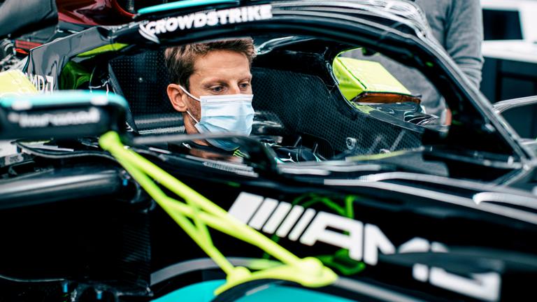 Romain Grosjean will drive Mercedes' 2019 car in a special test at Paul Ricard next month