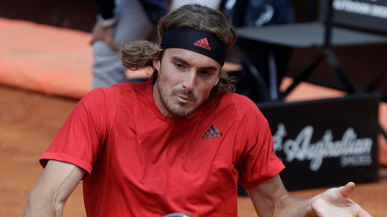 Greek fifth seed Stefanos Tsitsipas is yet to drop a set in this year's tournament