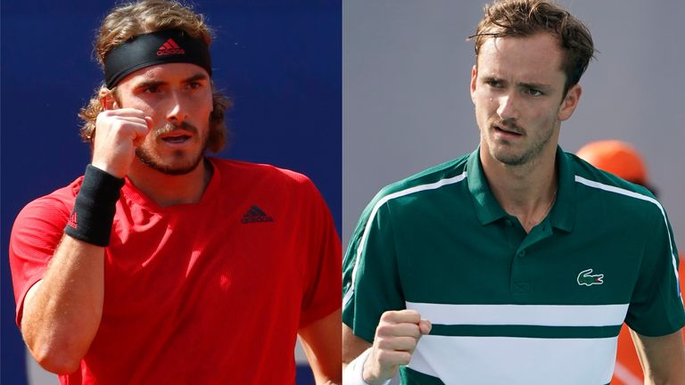 Stefanos Tsitsipas and Daniil Medvedev will be favourites to progress through the bottom half of the French Open draw