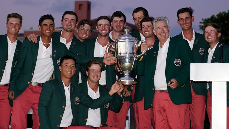 Team USA retained the Walker Cup with a 14-12 win