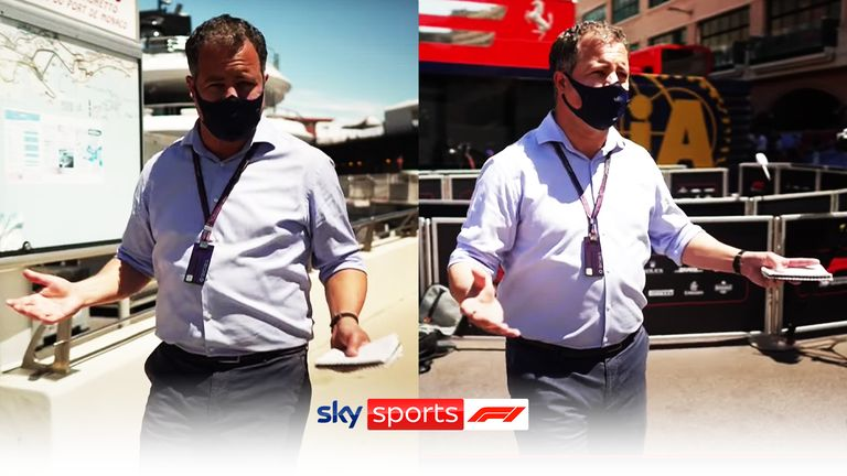 WATCH: Ted Kravitz takes us on a tour around the paddock and previews the world-famous Monaco GP, live only on Sky Sports F1